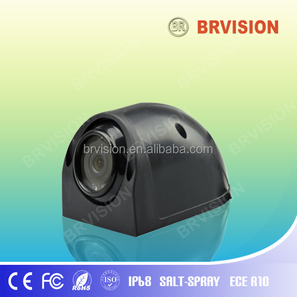 Waterproof auto side view camera