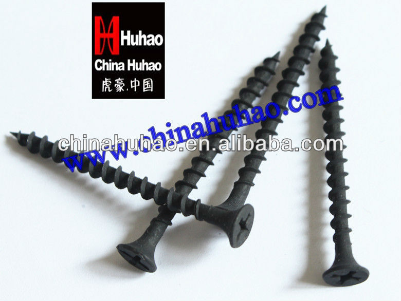 Black drywall screw (favorable price with high quality),Tornillos Drywall,parafuso para drywall,