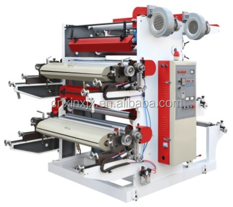 ENGINEER AVAILABLE 2 COLOR FLEXO GRAPHIC PRINTING MACHINE MADE IN CHINA