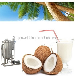 Coconut milk production line processing plant making machine