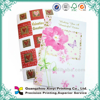 Oem Handmade Paper Design Wholesale Greeting Card For Teachers Day