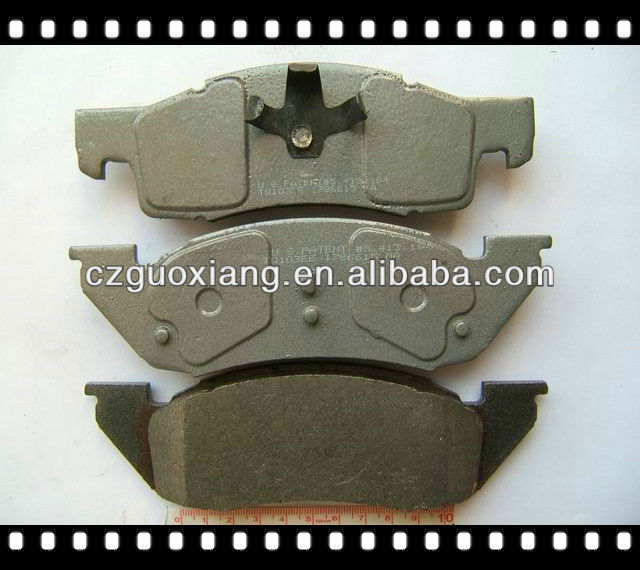 Brake pads D344 for Dodge Dakota-4 wheel drive/2 wheel drive 1987