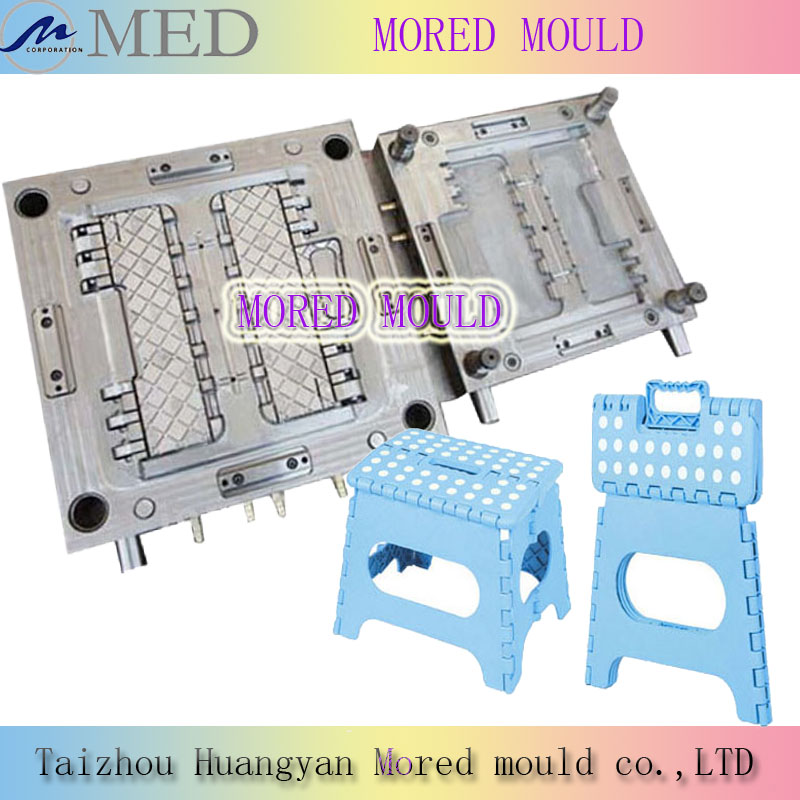 hot sale high quality competitive price child stool mould folded stool mold