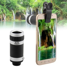 Universal 8X Optical Zoom Telescope Camera Mobile Phone Lens for Nokia lumia 520 630 525 640 640xl 930 1020 glass + metal lenses
