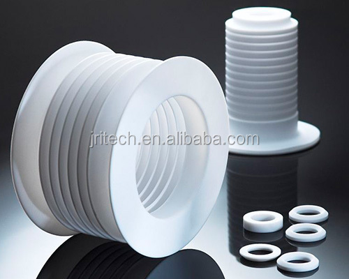 CNC machined PTFE bellows chevron rings gasket