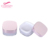 colorful decorative cosmetic package luxury round loose powder container bb and eye skin cream jar