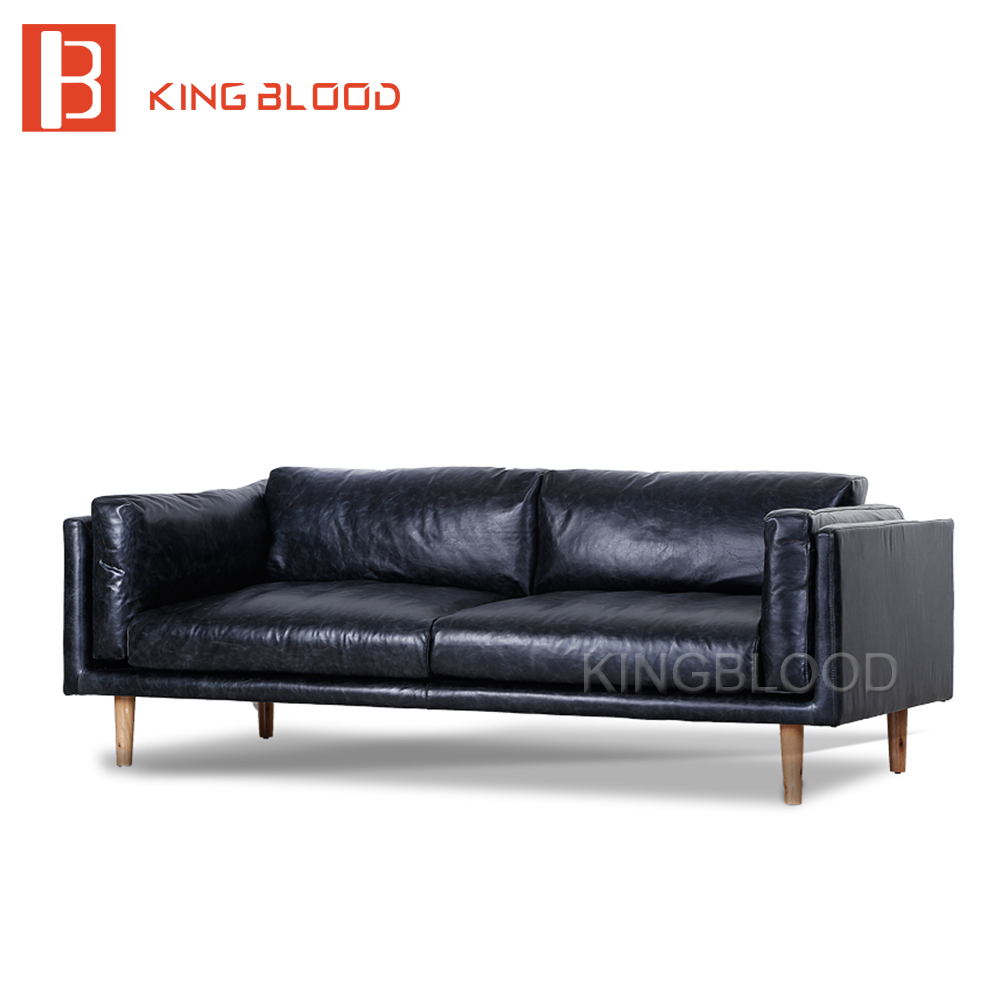<strong>Modern</strong> black italy genuine Nappa leather <strong>modern</strong> sofa set furniture buy from online
