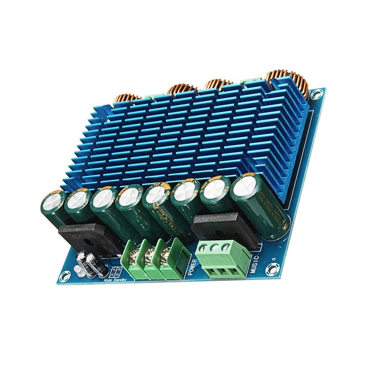 YT Module XH-M252 TDA8954TH Dual Chip D Digital Amplifier Board Audio Amplifier Board 420W2