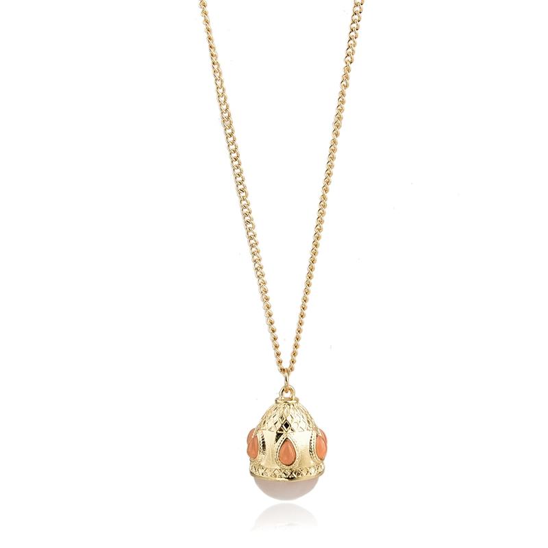 Pendant necklace wholesale large size rose quartz pendant necklace фото