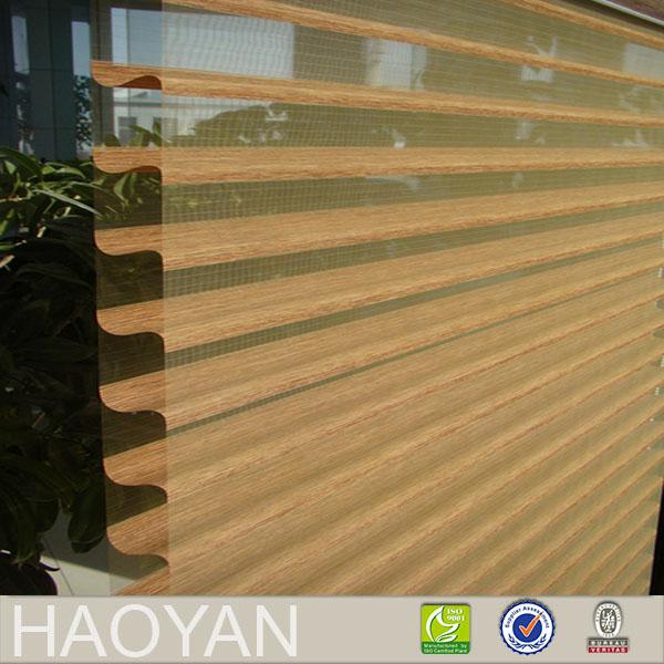 Día y noche veneciano ajuste shangri-la cortina de tela de poliéster persianas