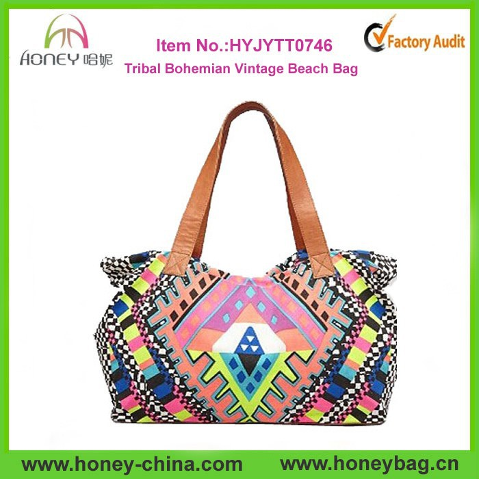 2015 Wholesale Ethnic Tribal Bohemian Vintage Beach Bag - Buy ...