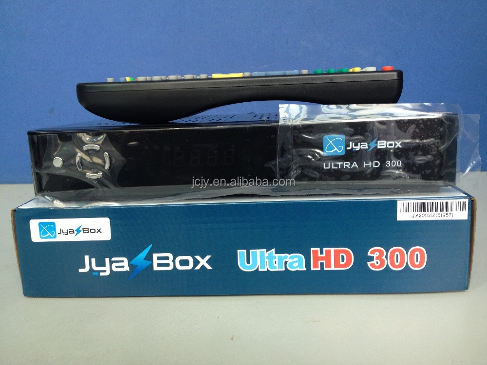 2016 newest Original Jyazbox ultra hd 300 with jb200 module Wifi antenna 8psk satellite receiver for North america