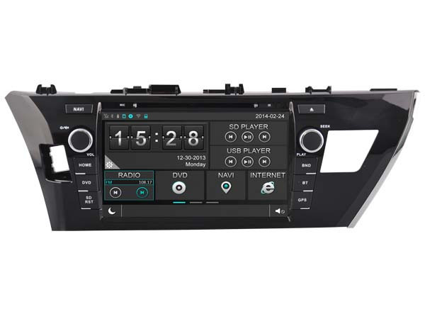 WITSON <strong>TOYOTA</strong> LEVIN 2014 DASH BOARD CAR DVD 3G FRONT DVR CAMERA OBD DISPLAY 1080P WIFI DSP BACK VIEW