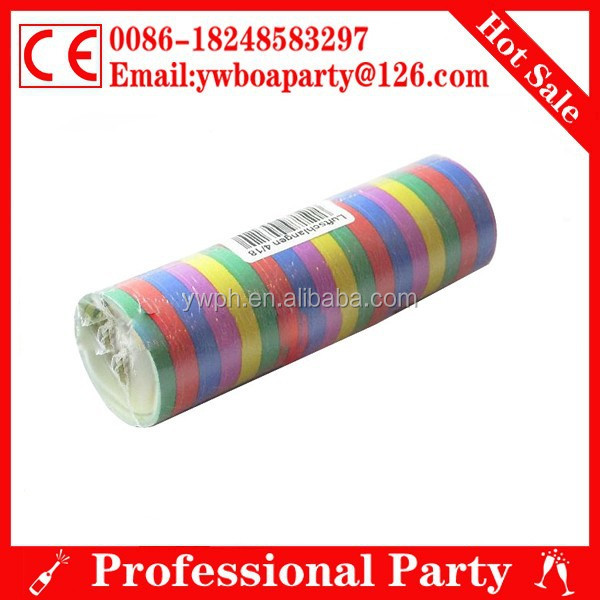 colorful paper serpentine