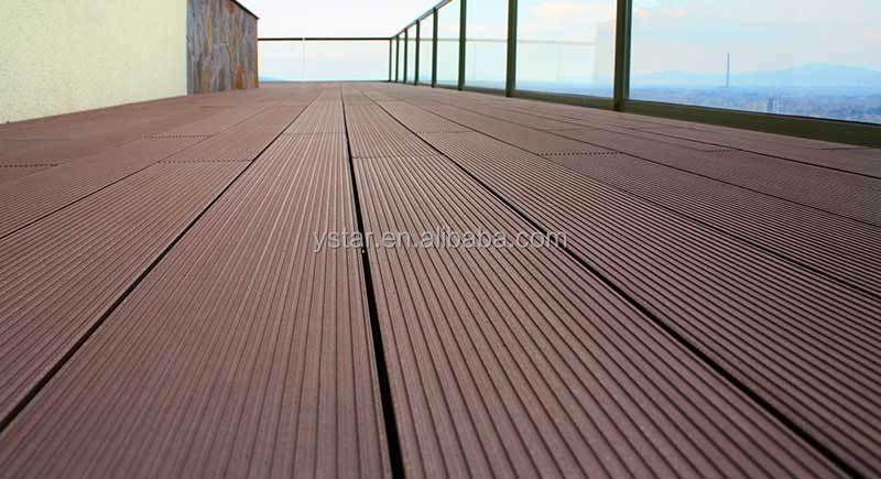 polymer decking