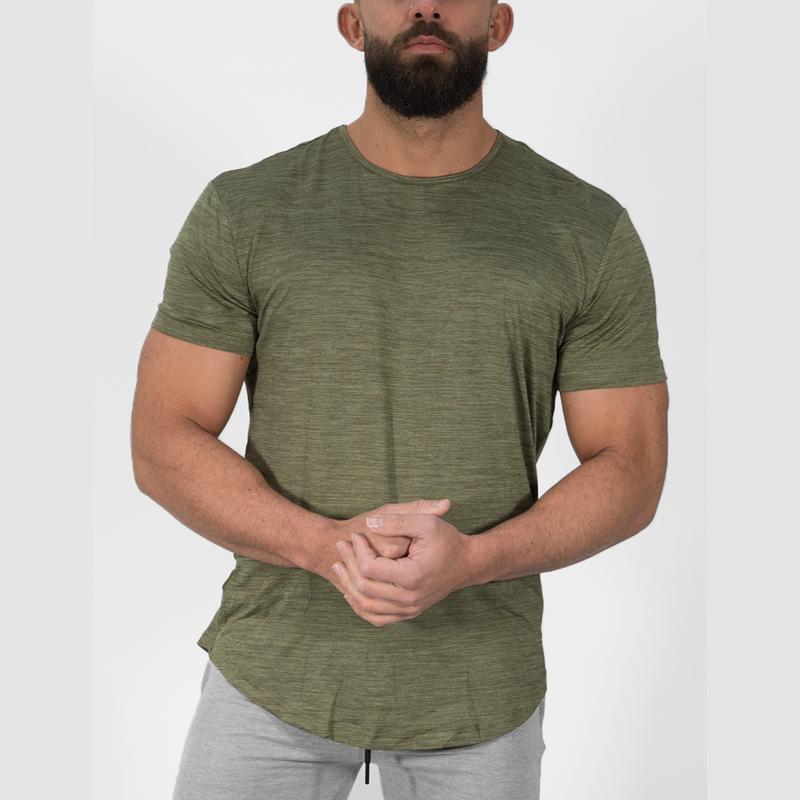 Camisetas de cáñamo de diseño personalizado, venta al por mayor, ropa deportiva, camiseta para hombre