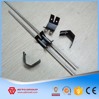 Hanging Wire And Adjule Clip For Suspending Ceiling Systems