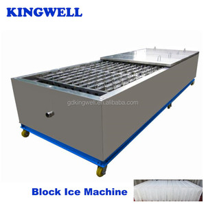 Kingwell Industrial Ice Tube/Cube/Block Making Machine with Siemens PLC Controlled System