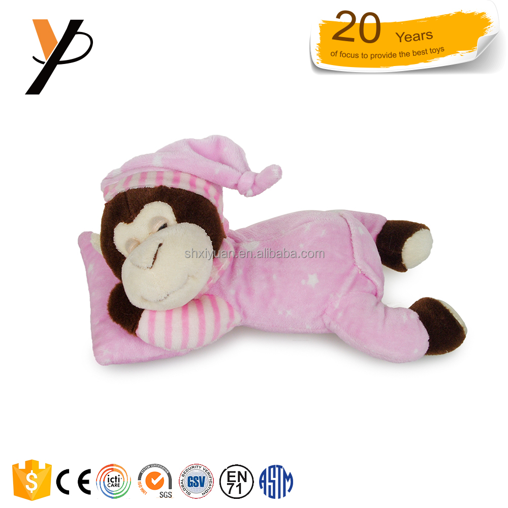 High quality cute stuffed animals plush toys monkey for children