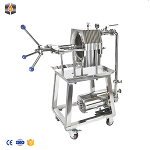 Good quality Castiron plate filter press Use Small Cold Press Oil Machine Cooking oil processing machine