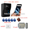 smartphone app control 2-way video intercom wifi for villa