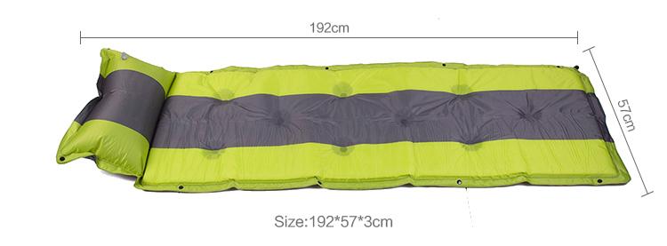 Barato por atacado espreguiçadeira à prova d 'água camping inflável cama de ar de rede