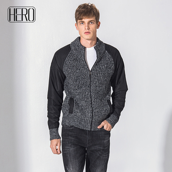 8d15a2ef91 Top 10 supplier zipper open front cardigan 30% wool premium quality fashion  men sweater