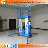 China aluminum air hydraulic motorcycle lift table/hydraulic lift table