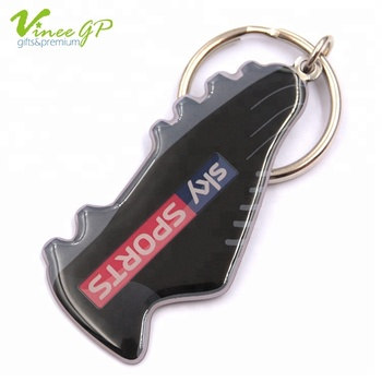 china Nickel Plating Wholesale Metal keychain promotional keyring with custom logo