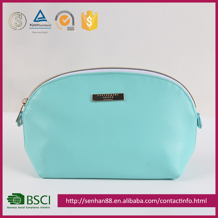 Gold Supplier China Blue And Pink Ladies Cosmetic Bag