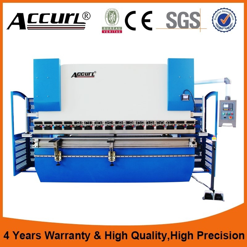 WC67K - 250T / 3200mm stainless steel pipe bending machine manual sheet metal bending machine press brake machine