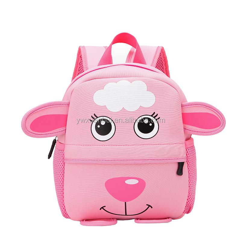 0f0c9da7fff39 الأطفال المدرسية الروضة حقيبة الكرتون حقيبة الظهر الحيوان الأطفال للماء