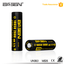 Li Traction 18650 3.7V Rechargeable battery 2600 mAh high drain Power 18650 with standard battery packing