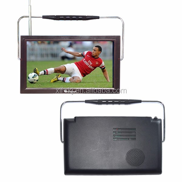 DVB-T2 LCD Portable Rechargeable Digital <strong>TV</strong>/Television +Remote dvb t2 digital
