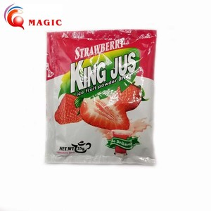 Concentrate fruit flavored drink powder strawberry flavor 10g for 2 litre water supplier