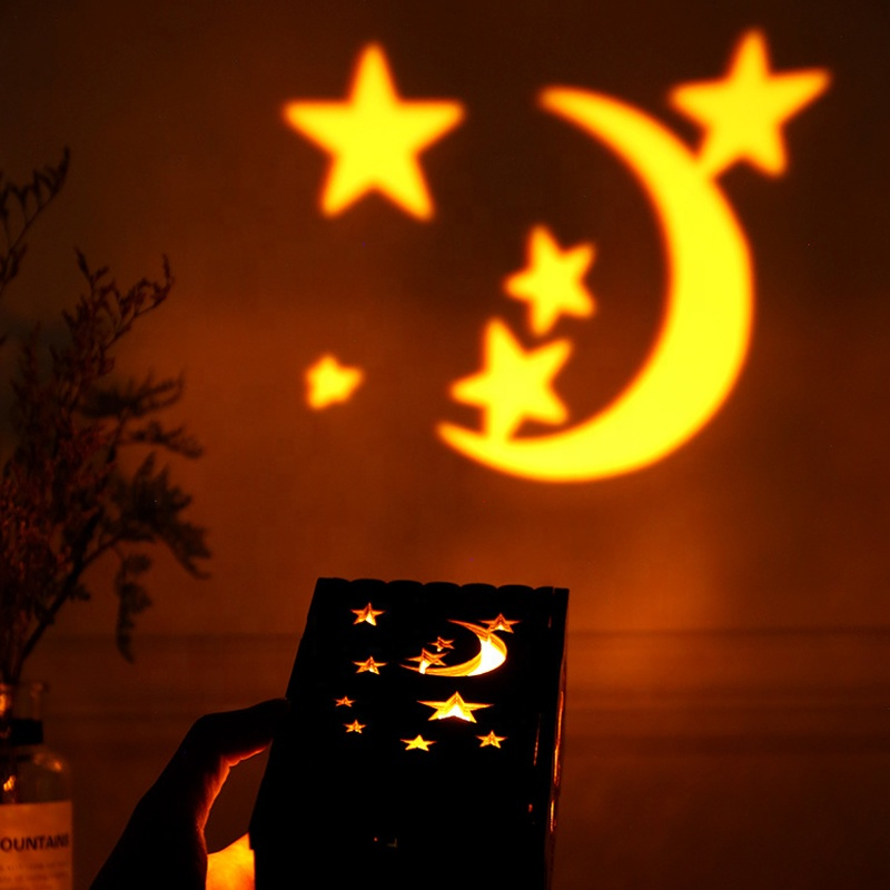 Indoor LED Night Light Projector Moon Stars Children Kids Baby lamps