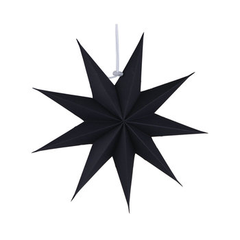 30cm Black Nine Point Lucky Paper Party Items Stars 3d In