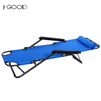 Fantastic Wholesale Portable Folding Reclining Beach Chair Bed Indoor Outdoor Recliner For Camping Beach Cot Pool Office Buy Folding Camping Bed Portable Creativecarmelina Interior Chair Design Creativecarmelinacom