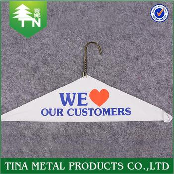 6567558b301 Wholesale Price Chinese Manufacturer Cute Eco-friendly Clothes Hanger  Printed Logo - Buy Clothes Hanger Printed Logo,Eco-friendly Clothes Hanger  ...