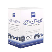 ZEISS Lens Cleaning 200 Wipes Eye Glasses Computer Camera Optical Lense Cleaner 6″ x 5″