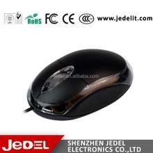 Cheapest 3d wired optica mouse con varios colores