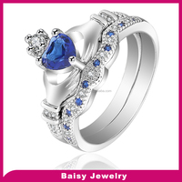 love style factory price bulk sale 925 Claddagh Ring silver