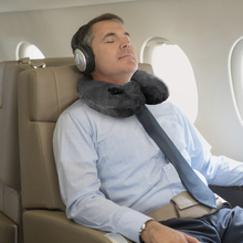 push-button inflatable neck pillow travel pack