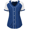 Full sublimation 100% polyester custom v neck baseball jerseys
