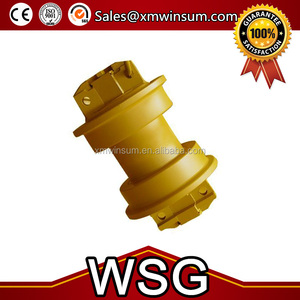 Best Quality D150A-1 D155A-1 Undercarriage Parts KM122 Track Lower Down Bottom Roller SF 175-30-00762