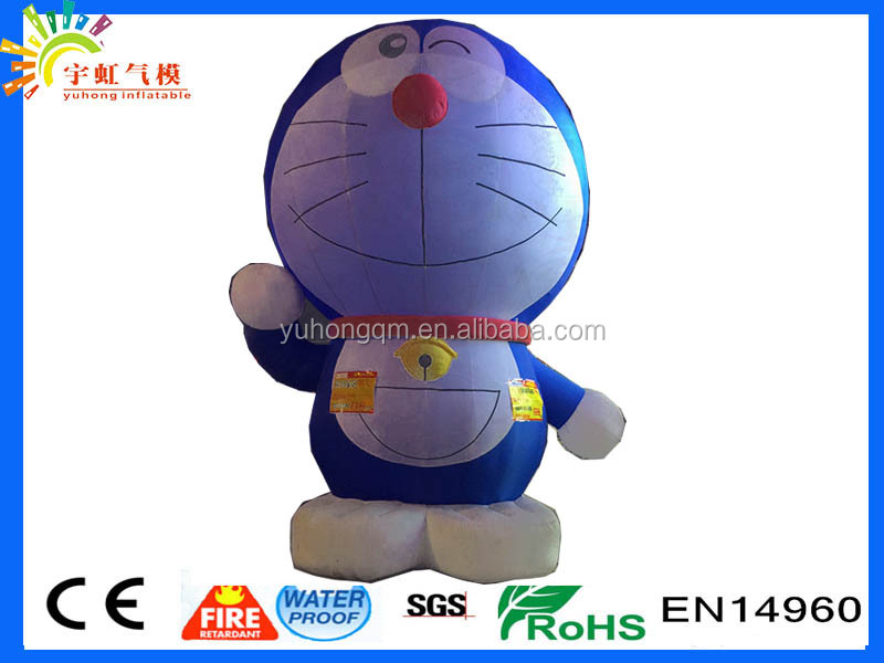 Extremely hot sale doraemon blue fatty voidwalker inflatable advertisement toys toys