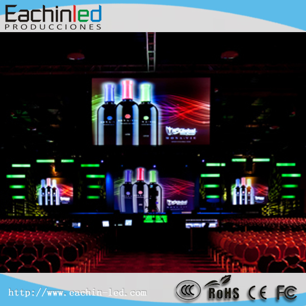 Indoor Advertising RGB Full Color HD Rental P3 LED Display Used For Production Promotion