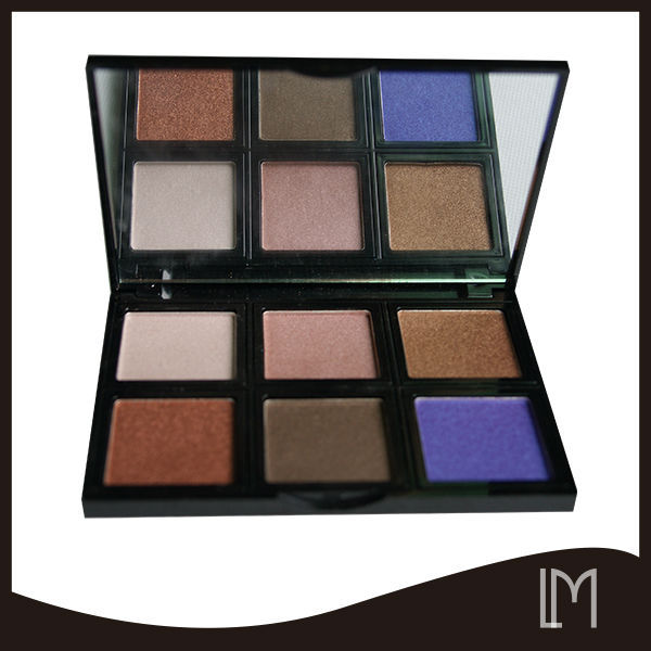 Luxury shimmer color eyeshadow palette