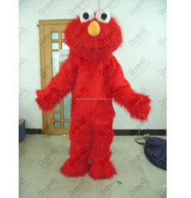 cartoon long fur elmo mascot costumes