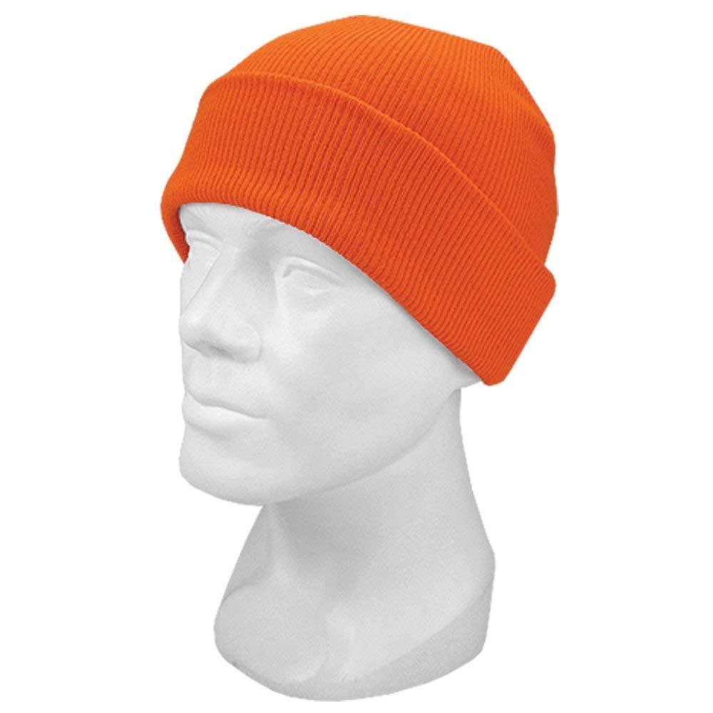 Get Quotations · Hot Shot Men s Acrylic Cuff Cap Knit Hat 622cc5e5836e